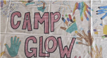 camp glow poster